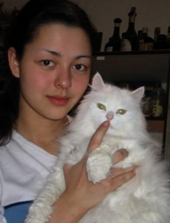 Юная Марина Кравец