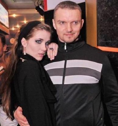 С Анастасией Веденской