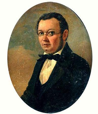 Петр Ершов на портрете