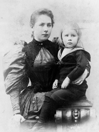 Вера Садовская в дочерью