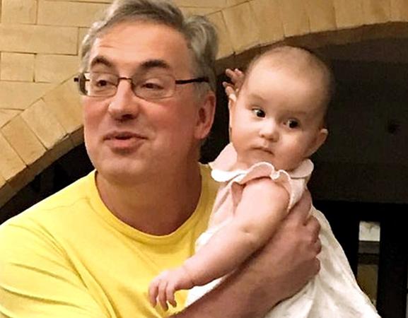 Андрей с внуком