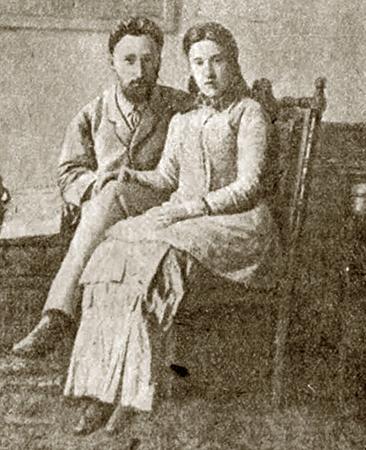 Всеволод с женой