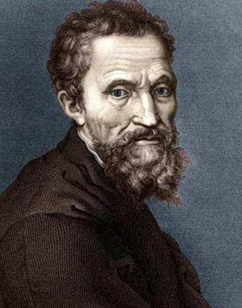 Микеланджело Буонарроти в старости