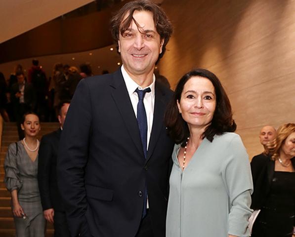С женой Алиной в наши дни