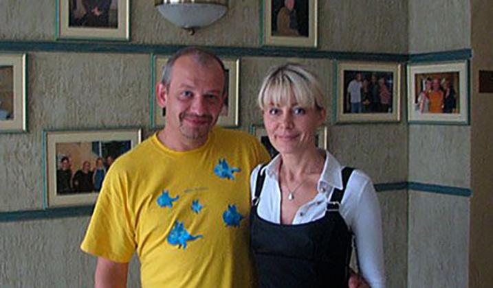 С Ольгой Аносовой