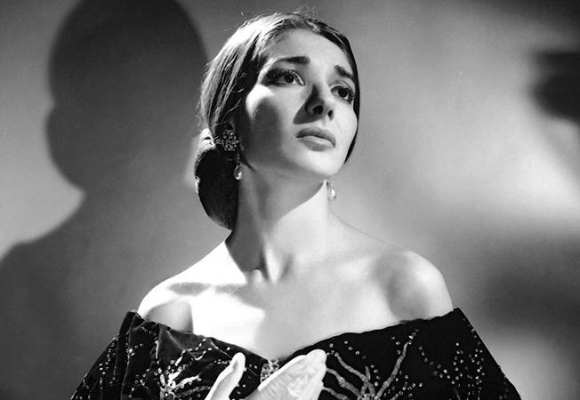 Певица Мария Каллас