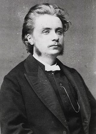 Композитор в молодости