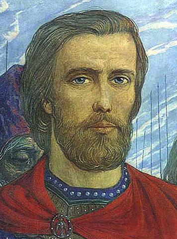 Дмитрий Донской в молодости