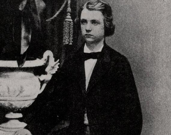 Эдвард в юности