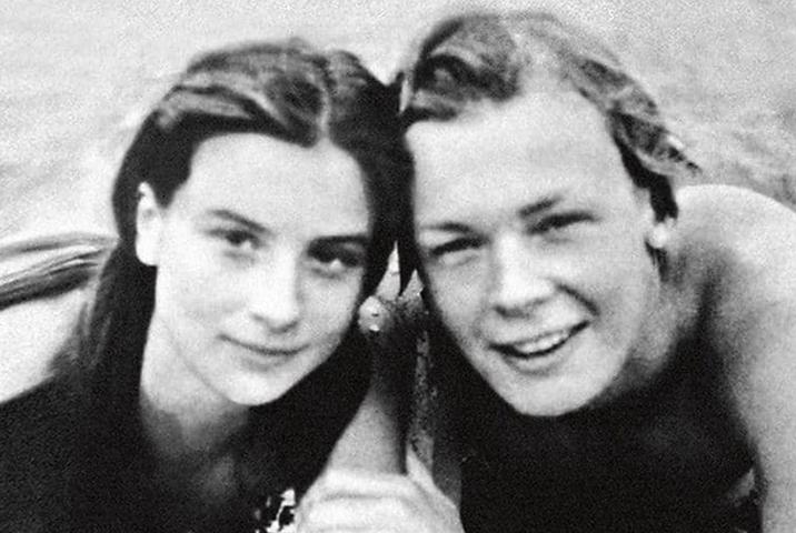 Екатерина и Александр в молодости