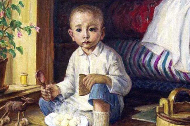 Габдулла Тукай в раннем детстве
