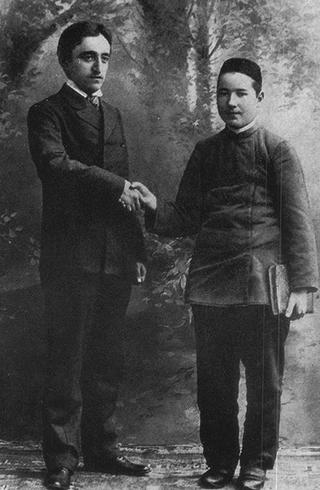 Гадбулла (справа) с Камилем Мутыгием-Тухватуллиным