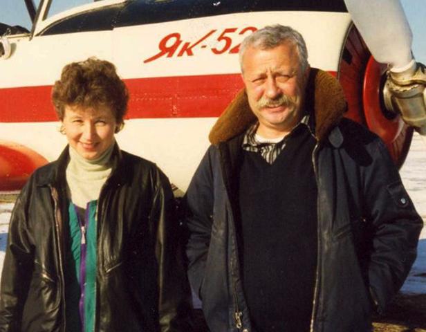 С Галиной Антоновой
