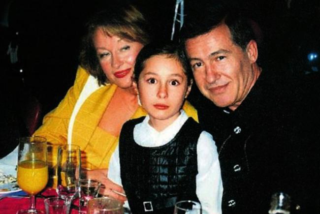 С Геннадием и дочерью