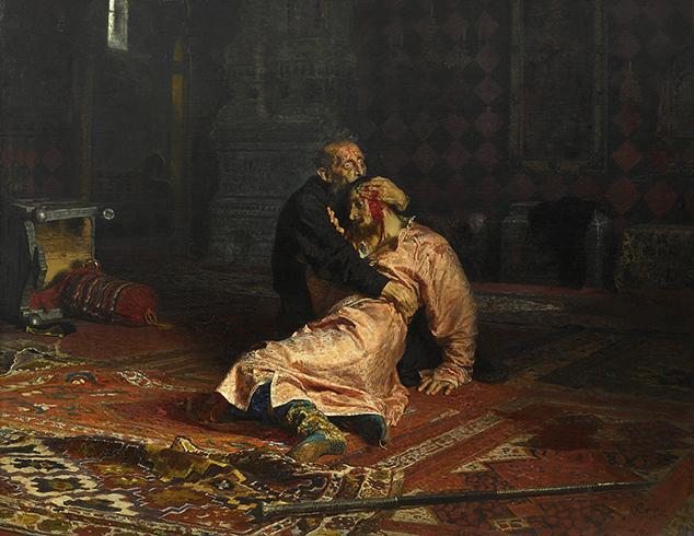 """Знаменитая картина Иван Грозный и сын его Иван 16 ноября 1581 года"""""""