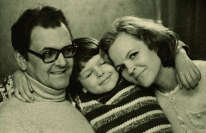 С Ириной и сыном