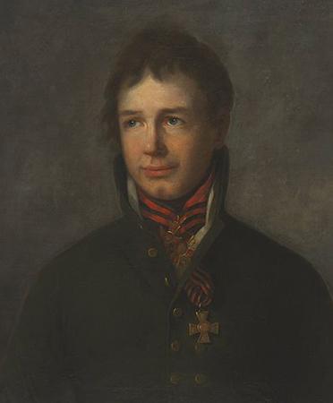 Иван Крузенштерн в молодости