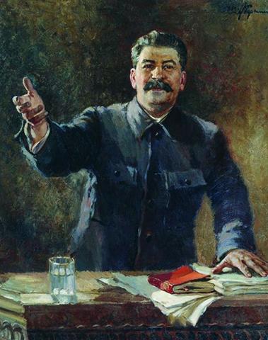 Картина со Сталиным