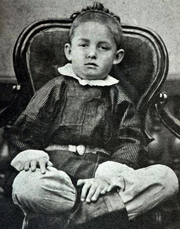 Константин в детстве