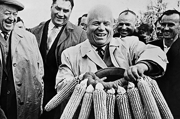 Никита Хрущев и кукуруза