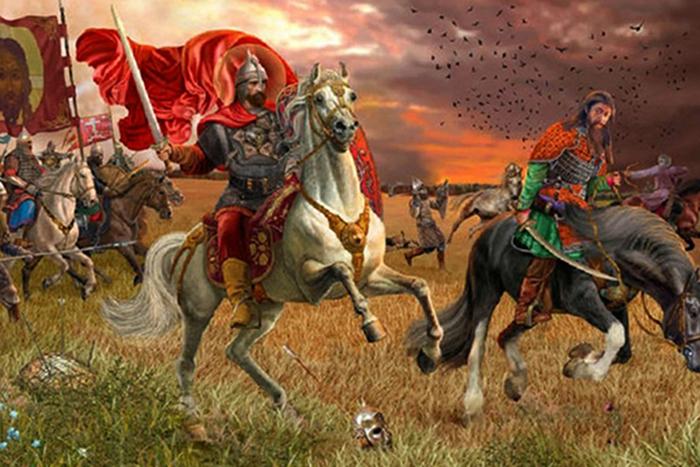 На Куликовской битве