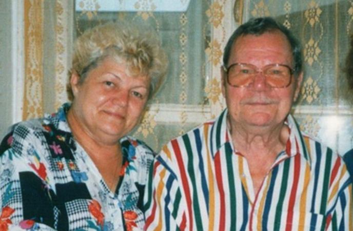 С третьей женой Ириной