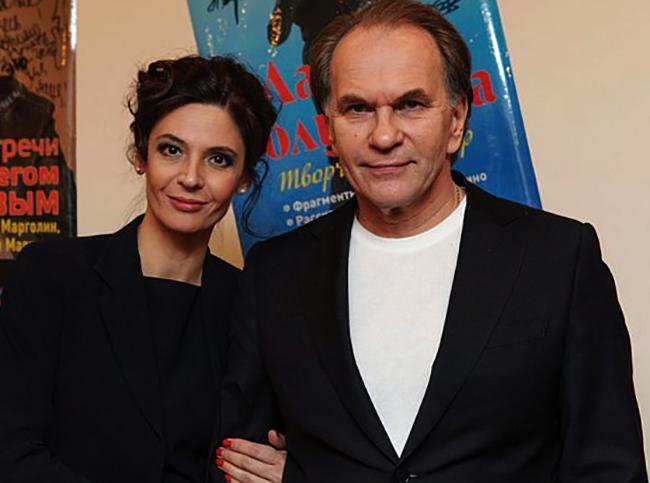 С женой Лидией