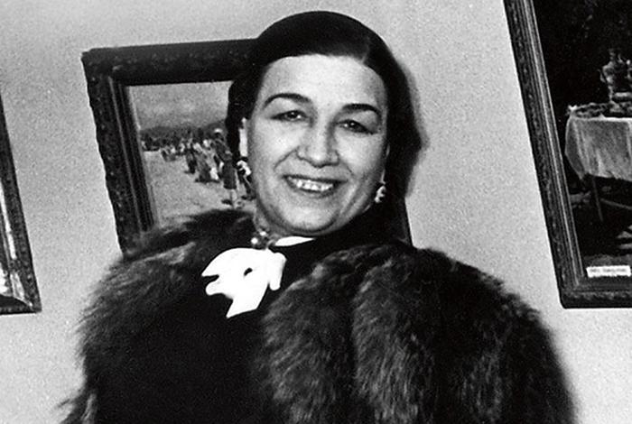 Лидия Русланова в зрелости