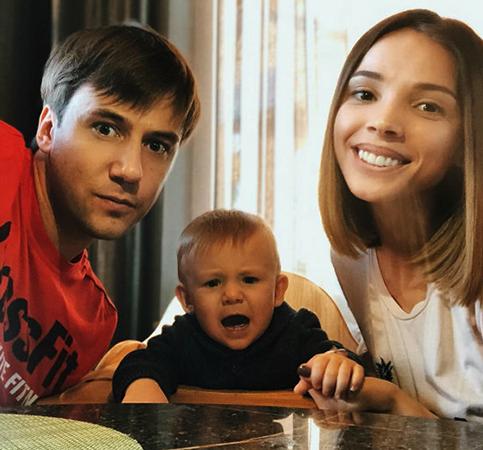 С Лилией и сыном Степаном
