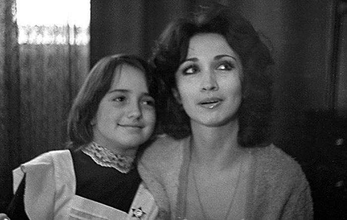 С дочерью Лолой