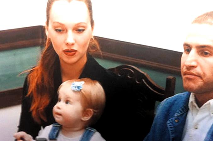 С Марией Воробьевой и дочерью Полиной