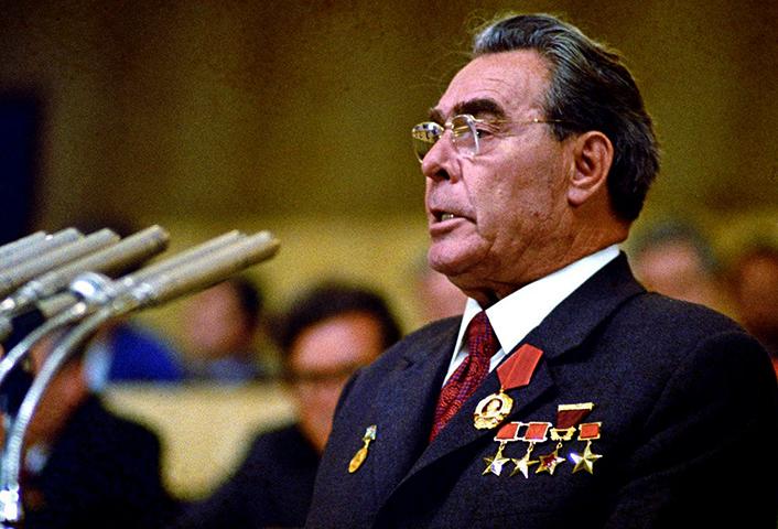 На должности главы КПСС