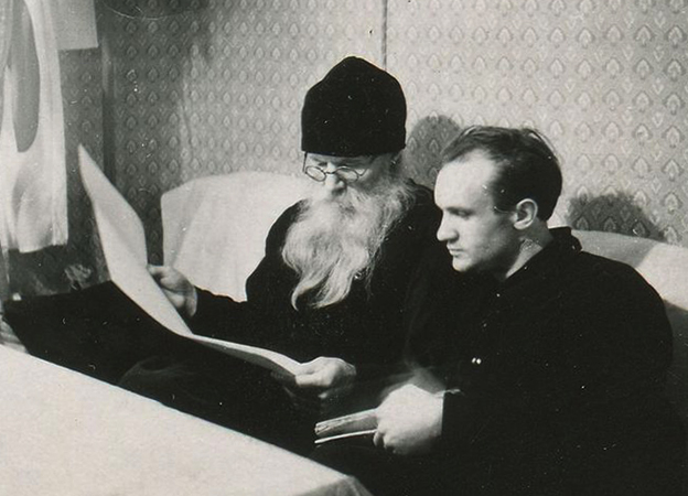 С игуменом Никоном