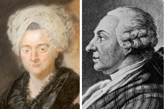 Катарина Элизабет и Каспар Гете – родители Иоганна