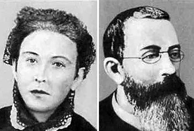 Мария Юмашева и Эдуарда Циолковский — родители Константина