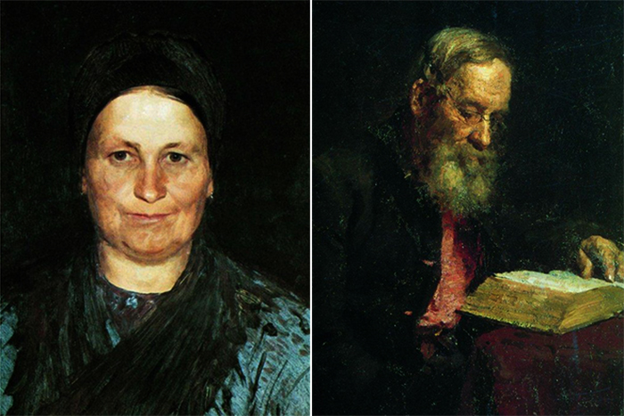 Родители Татьяна Степановна и Ефим Васильевич