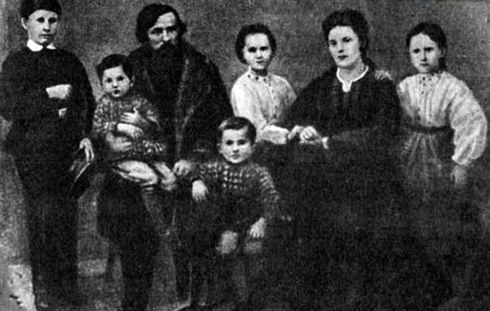 Семья Константина Ушинского