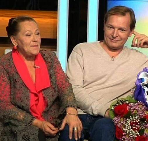 Раиса Ивановна с сыном