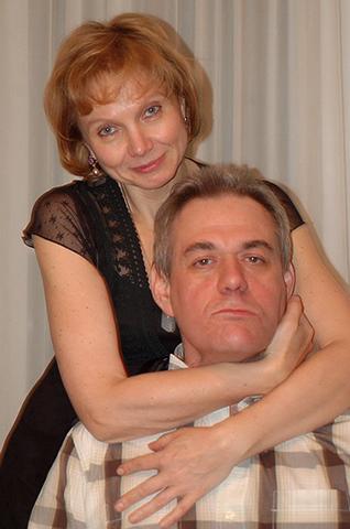 С первой женой Мариной