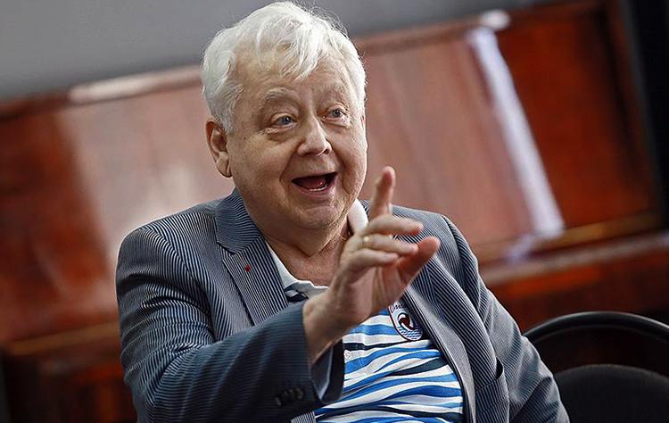 Олег Табаков незадолго до смерти