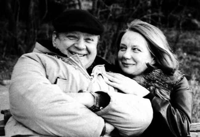 С Ниной Тихоновой