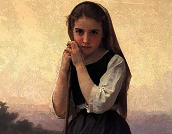 Юная Жанна д'Арк