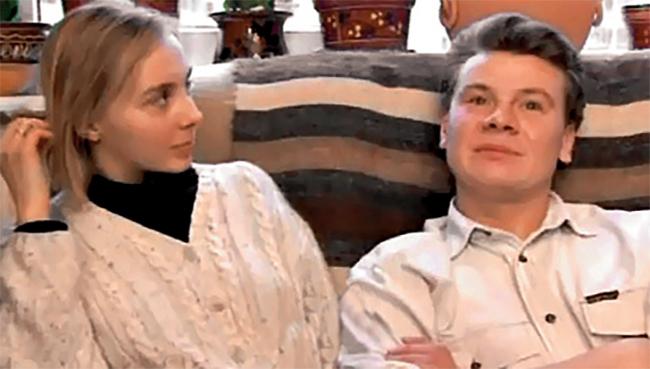 С третьей женой Валентиной