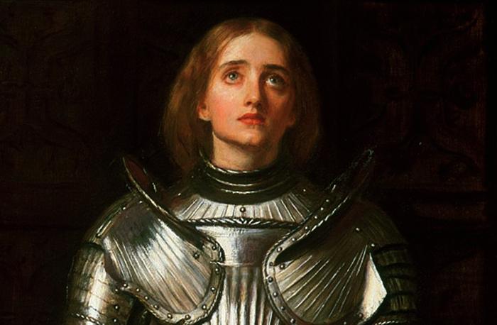 Молодая Жанна д'Арк