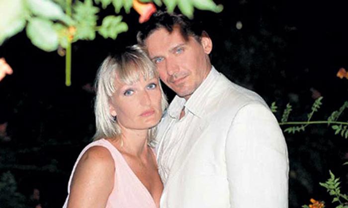 С женой Ириной