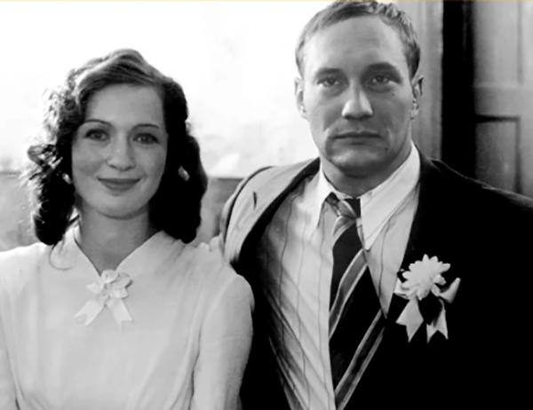 С женой Татьяной Борковской