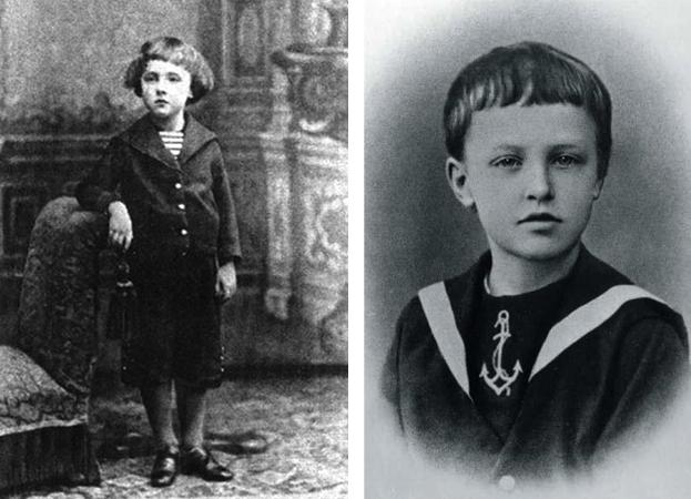 Александр Блок в детстве