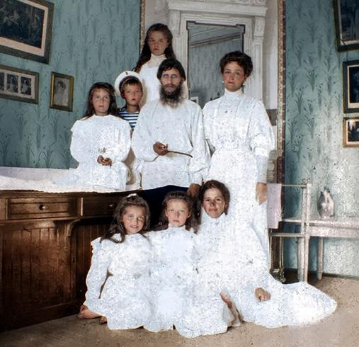 С царской семьей