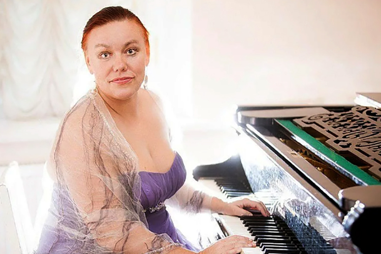 Пианистка Елена Гаудасинская