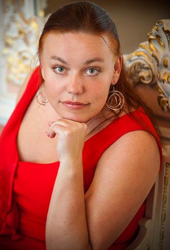 Артистка Елена Гаудасинская